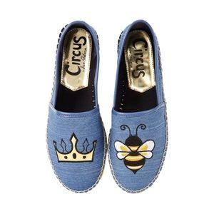 Sam Edelman Queen Bee Leni Slip On Espadrille 8.5